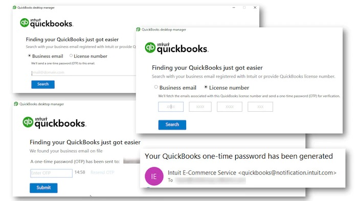 QuickBooks Desktop Manager option - Screenshot Image 1