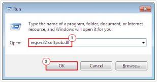 Registering the first .dll file - Screenshot Image