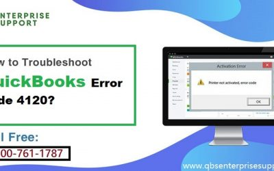 How to Fix the QuickBooks Error Code 4120?