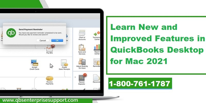 What's New in QuickBooks Desktop for Mac 2021?