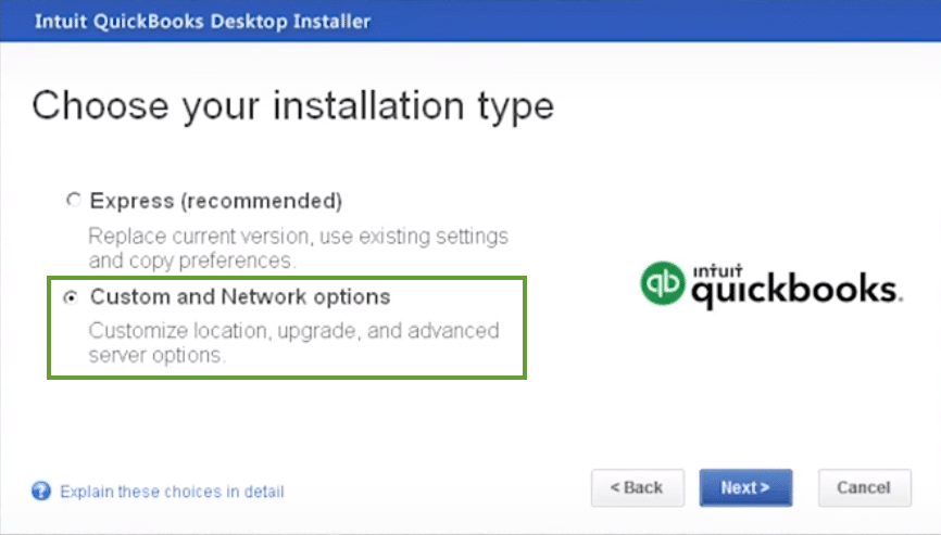 Install multiple versions of QuickBooks - Screenshot 1