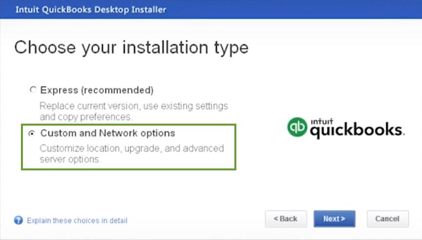 Installing QuickBooks updates - Screenshot Image