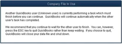 Fix locked file errors in QuickBooks Desktop - Screenshot Image