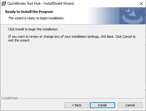 Installation of QuickBooks tool hub - Screenshot Image 2
