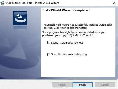 Installation of QuickBooks tool hub - Screenshot Image 4