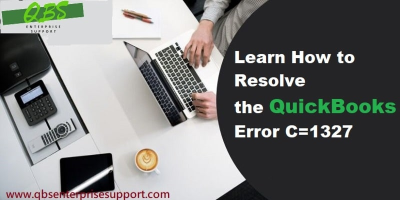 Troubleshoot the QuickBooks Error Code C=1327 (Invalid Drive Letter) - Featuring Image