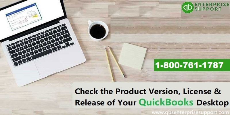 Check QuickBooks Desktop Version Product Information License Number Release - Featured Image
