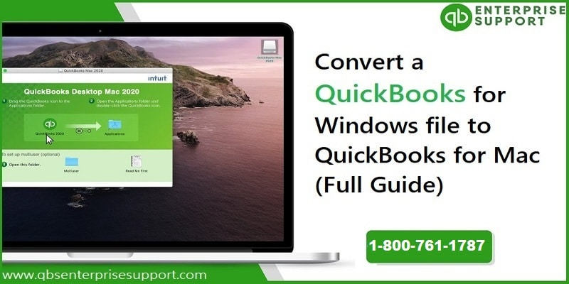 How to Convert a QuickBooks for Windows File to QuickBooks for Mac?