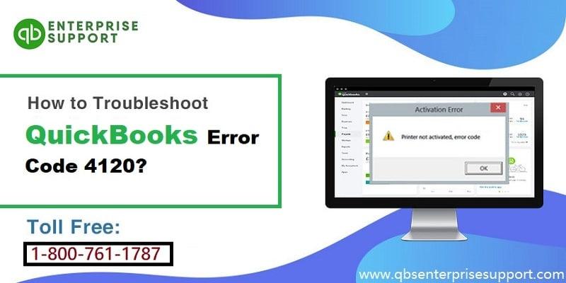 Fixation Methods for QuickBooks Error Code 4120 - Featured Image