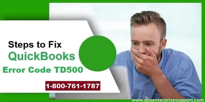 How to Fix QuickBooks Error TD500 - Featuring Image