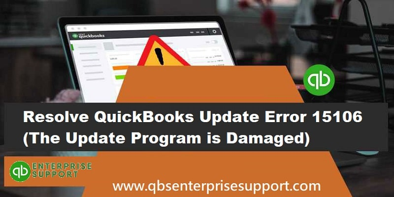 How to Fix QuickBooks Payroll Update Error 15106 - Featuring Image
