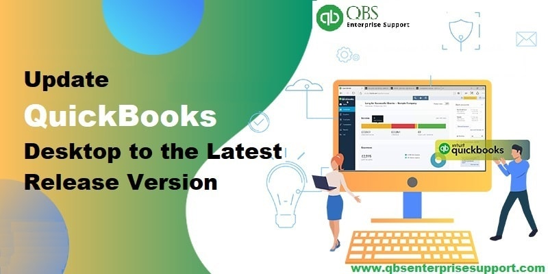 How to Update QuickBooks Desktop to the Latest Release - Featured Image