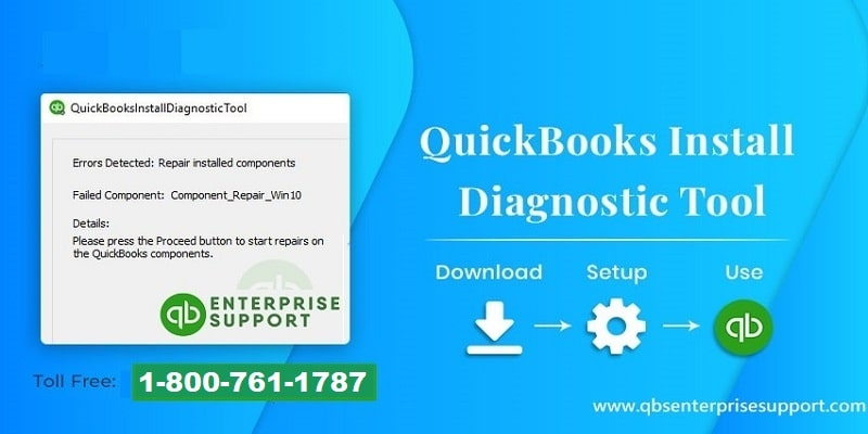 QuickBooks Install Diagnostic tool – Methods to Install, Download & Use