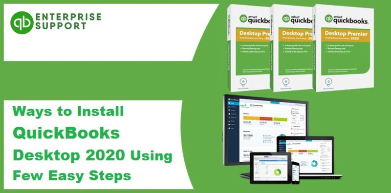 Learn how to Install QuickBooks Desktop - Featured Image
