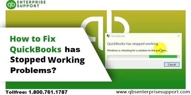 Mend QuickBooks has stopped working or not responding error - Featured Image