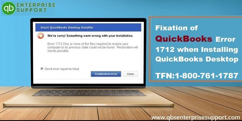 Methods to Resolve QuickBooks Error 1712 when Installing QuickBooks - Featuring Image