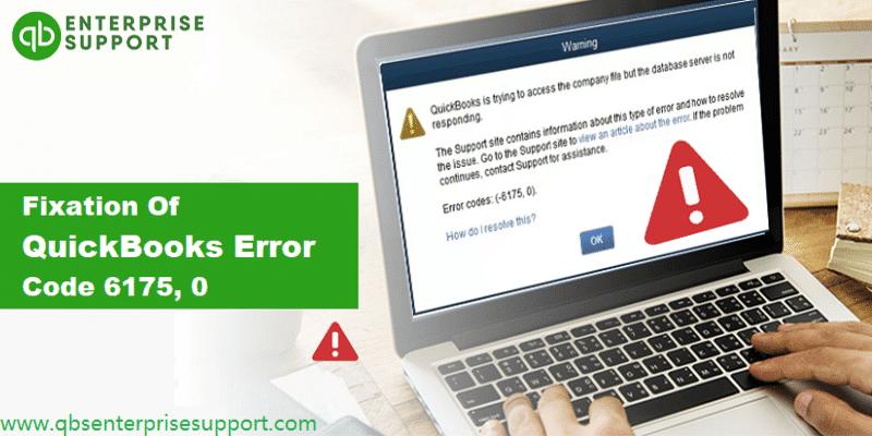 Methods to Troubleshoot the QuickBooks Error Code 6175 0 - Featuring Image