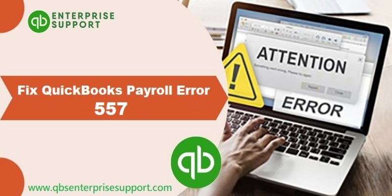 Resolution of QuickBooks error code 557 when updating payroll - Featuring Image