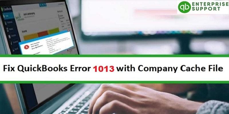 Resolve QuickBooks Error OLSU 1013 - Featuring Image