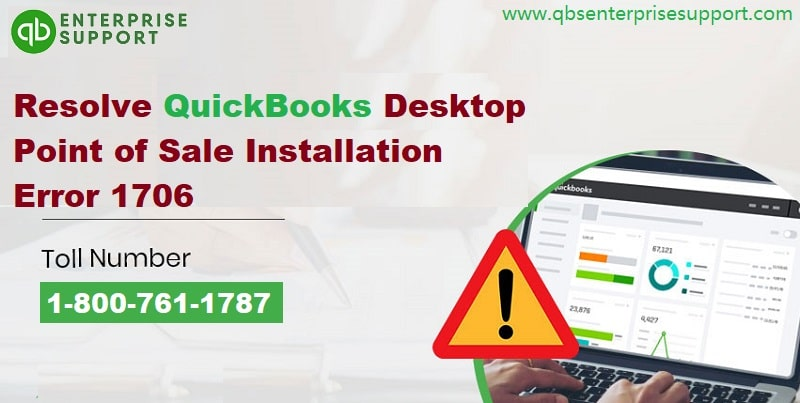 Solutions to Troubleshoot QuickBooks POS Error 1706 - Featuring Image