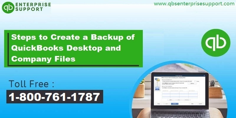 Steps to Create a Backup of Your QuickBooks desktop data files - Featured Image