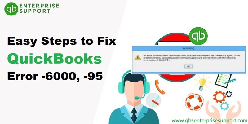 Steps to troubleshoot QuickBooks error code 6000 95 - Featured Image
