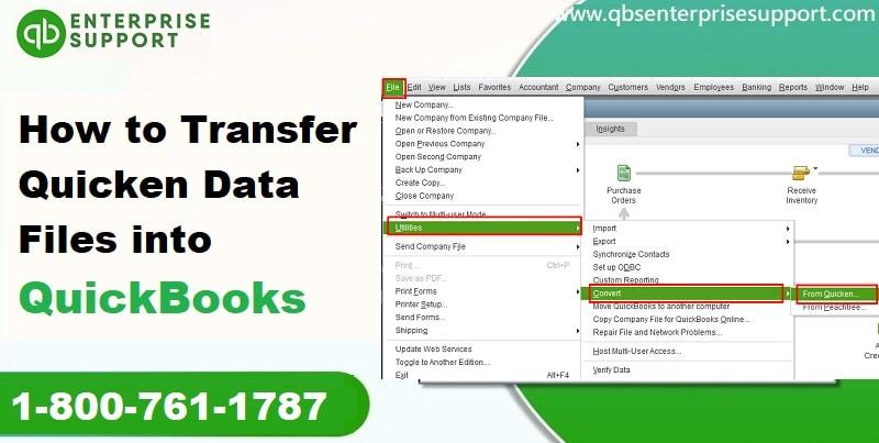 How to Transfer Quicken Data to QuickBooks Desktop?