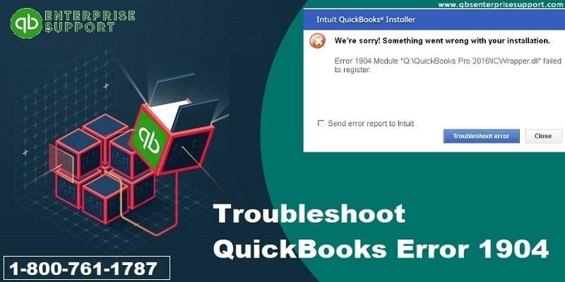 Troubleshoot QuickBooks Error 1904 Like a Pro - Featured Image
