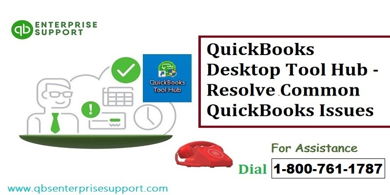 Troubleshoot common issues and errors with QuickBooks Tool Hub - Featured Image
