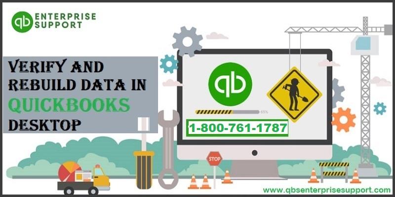 Verify and Rebuild QuickBooks Data File to Fix the Corruption - Featured Image