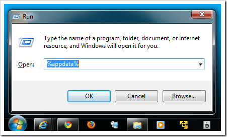 %APPDATA% - Screenshot Image