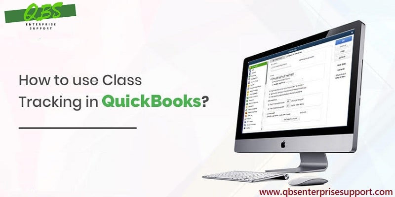 Set up and use class tracking in QuickBooks Desktop - Screenshot Image